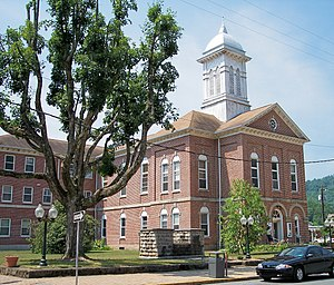 Braxton County, West Virginia - Image: Braxton County Courthouse West Virginia