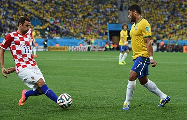 Brazil and Croatia match at the FIFA World Cup 2014-06-12 (07).jpg