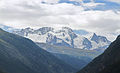 Breithorn summits, Monte Rosa massif from Mattertal.JPG