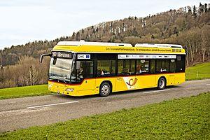 PostBus Switzerland - Fuel cell Postbus