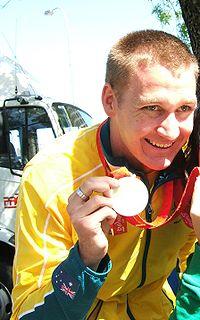Brenton Rickard Australian swimmer
