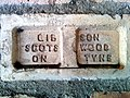 Brickworks wall, Beamish Museum, 26 January 2014 (3).jpg