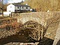 Bridge across the Sirhowy river, Cwm-corrwg - geograph.org.uk - 1734907.jpg