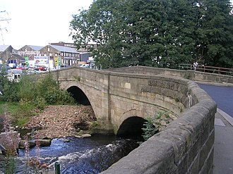 River Worth - Bridge over River Worth – Coney Lane, Keighley