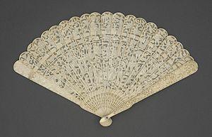 Hand fan - Handheld fan from 1800