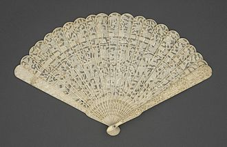 Hand fan - Handheld fan from 1800