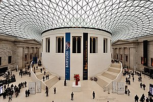 British Museum - Court and Glass Dome.