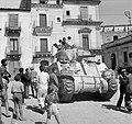 British Sherman tank in the streets of Francofonte.jpg