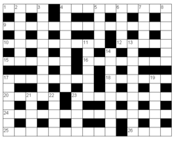 Korsord antal bokstäver