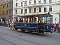 Brno, 140 let MHD (44), náměstí Svobody, koňka.jpg
