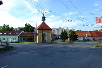 Brno-Slatina - Various buildings in Slatina