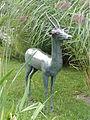 Bronzene Antilope im Botanischen Garten Gießen 02.JPG