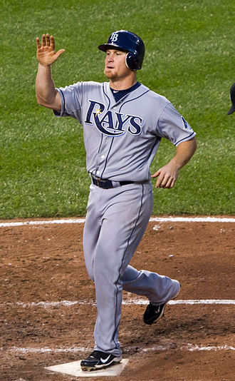Brooks Conrad - Conrad playing for the Tampa Bay Rays in 2012