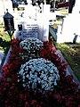 Bucuresti, Romania. Cimitirul Bellu Catolic. Mormantul Compozitorului DAN IAGNOV. (Oct. 2018).jpg
