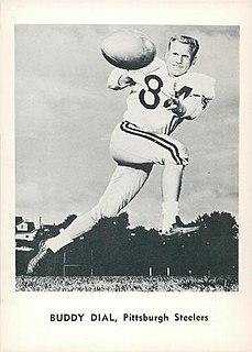 Buddy Dial American football player