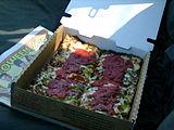 デトロイト風ピザ