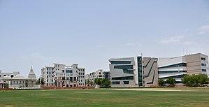 Suresh Gyan Vihar University - A wide view of the University main campus