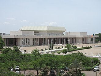 National Assembly (Chad) - Image: Building of National Assembly DJAMENA