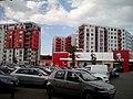 Buildings on Banu Mărăcine Street.jpg