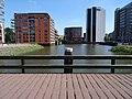 Buizengatbrug - Rotterdam - View from the bridge towards the east.jpg