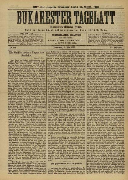 File:Bukarester Tagblatt 1890-05-08, nr. 102.pdf