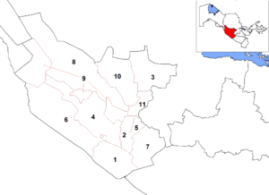 Bukhara Region - Districts of Bukhara