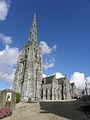Bulat-Pestivien (22) Église Notre-Dame Tour-clocher 07.JPG