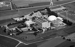 Obrigheim Nuclear Power Plant - The nuclear power plant in 1979