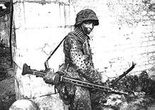 Image result for german ww2 machine gun mg42