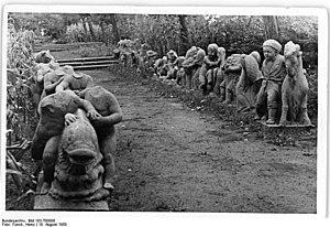 Märchenbrunnen - 1950 Photo