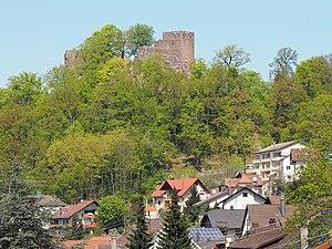 Ebersteinburg - Ebersteinburg and Alt Eberstein castle