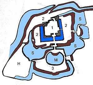 Matsushiro Castle - Plan of Matsushiro Castle