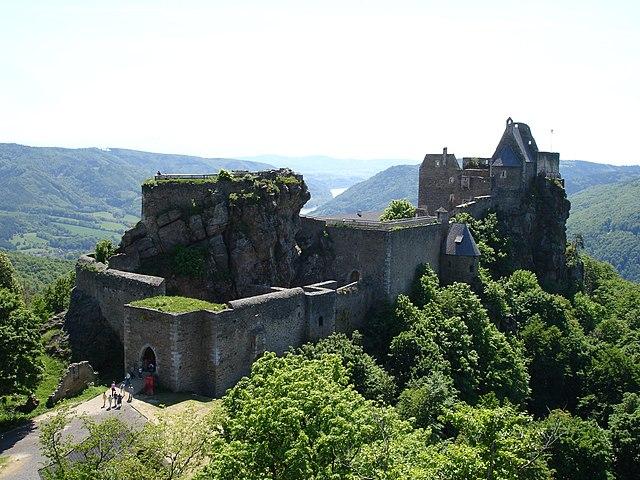Руина крепости Аггштайн