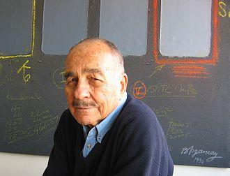 Burhan Doğançay - Burhan Dogancay at the Dogancay Museum