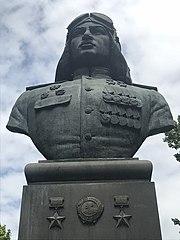 Bust of Nelson Stepanyan in Yerevan