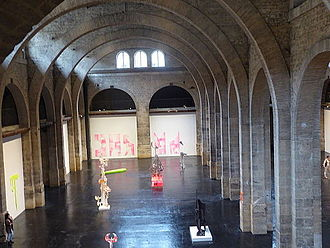 CAPC musée d'art contemporain de Bordeaux - CAPC interior nave, July 2014
