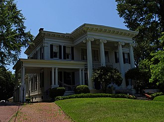 Garden District (Montgomery, Alabama) - Image: CA Thigpen House July 09 02