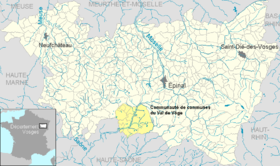 Image illustrative de l'article Communauté de communes du Val de Vôge