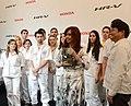 CFK inaugura producción de nuevo modelo de Honda 02.jpg