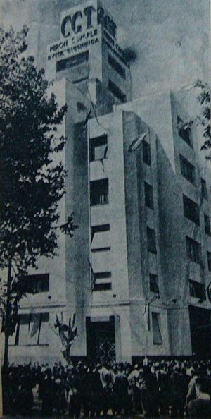 General Confederation of Labour (Argentina) - CGT headquarters in 1953