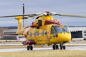 103 Search and Rescue Squadron - CH-149 Cormorant stationed at 103 SAR Base in Gander, Newfoundland.