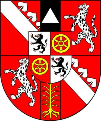 Leopold Karl von Kollonitsch - Image: COA cardinal HU Kollonich Leopold Karl