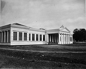 Royal Batavian Society of Arts and Sciences - Museum of the Royal Batavian Society of Arts and Sciences c.1875–1885, now the National Museum of Indonesia