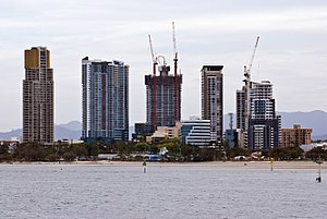 Southport, Queensland - The Gold Coast Broadwater commercial district