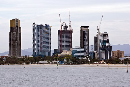 CSIRO ScienceImage 7482 Highrise development at Southport Queensland