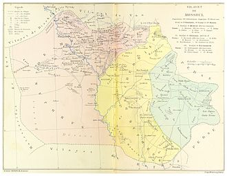 Mosul Vilayet - Image: CUINET(1892) 2.800 Mosul Vilayet
