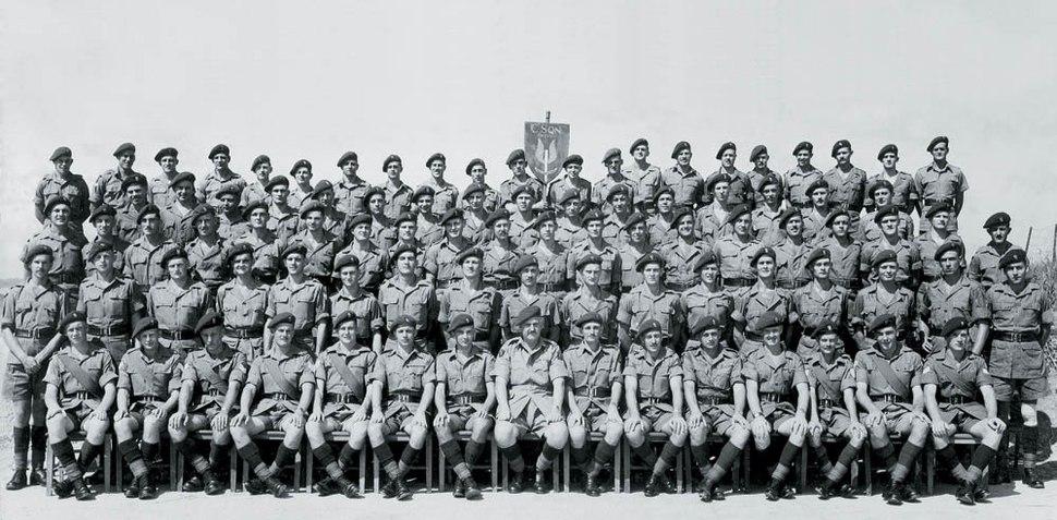 C Squadron (Rhodesian) SAS, 1953