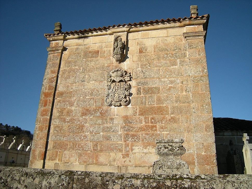 Cabeceira da igrexa de Santiago de Soutomaior, Taboadela