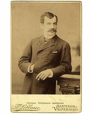 Elías Fernández Albano - Image: Cabinet con el retrato de Don Elías Fernández Albano
