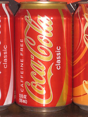 English: Caffeine Free Coca-Cola